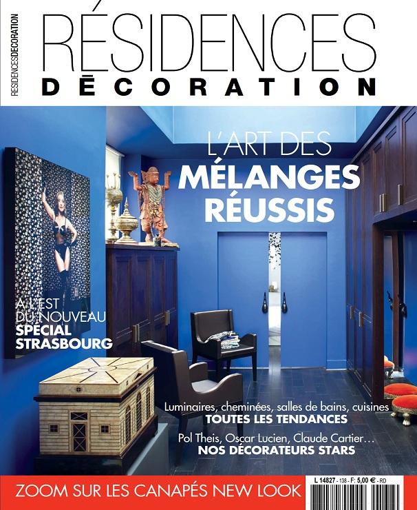 télécharger Residences Decoration N°138 - Novembre-Décembre 2017