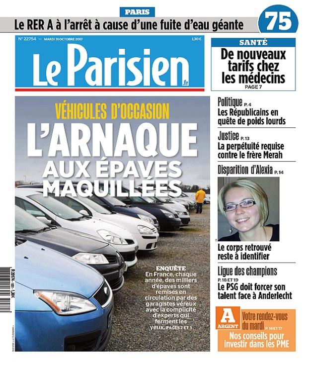 télécharger Le Parisien Du Mardi 31 Octobre 2017