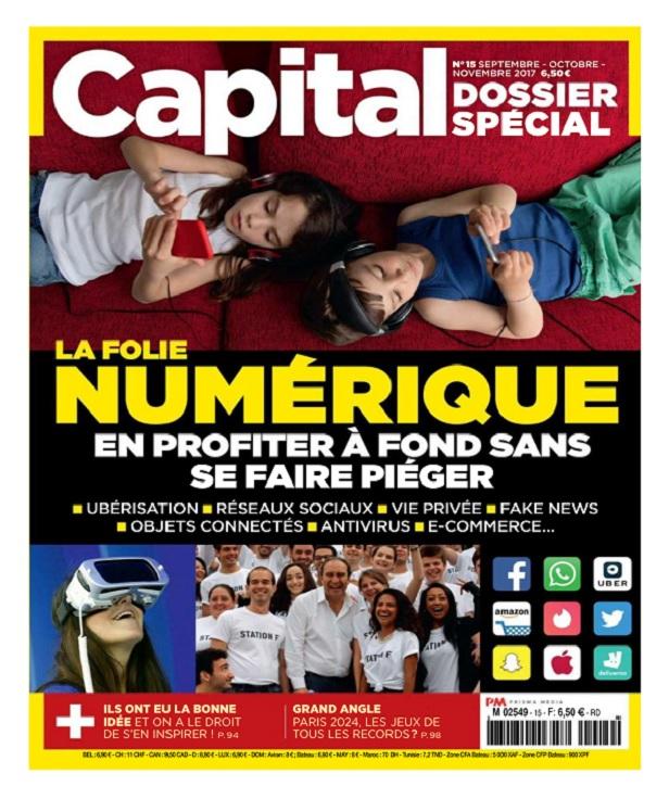 télécharger Capital Dossier Spécial N°15 - Octobre-Novembre 2017