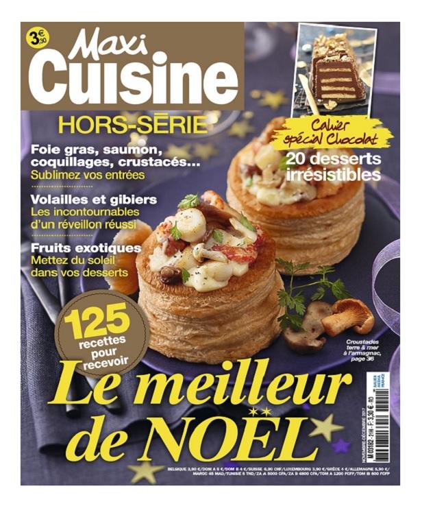télécharger Maxi Cuisine Hors Série N°21 - Novembre-Décembre 2017