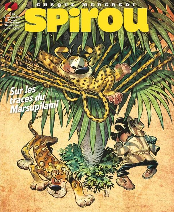 télécharger Le Journal De Spirou N°4151 Du 1er Novembre 2017