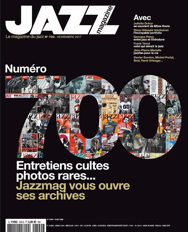 télécharger Jazz Magazine N°700 - Novembre 2017