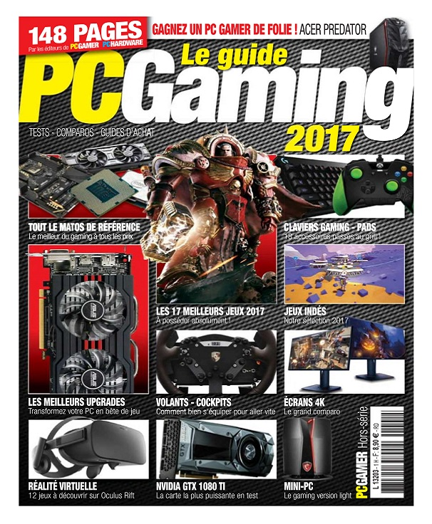 télécharger PC Gamer Hors Série N°2 - Le Guide PC Gaming 2017