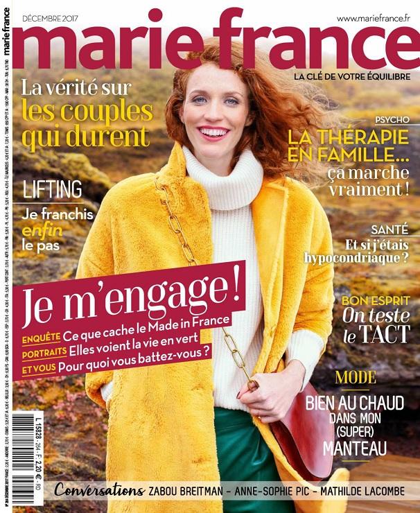 télécharger Marie France N°264 - Décembre 2017
