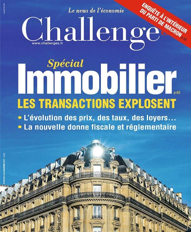 télécharger Challenges N°540 Du 2 Novembre 2017