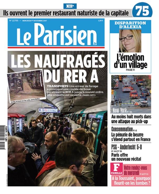 télécharger Le Parisien Du Mercredi 1er Novembre 2017