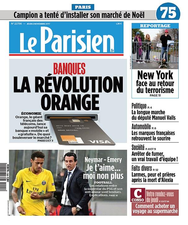 télécharger Le Parisien Du Jeudi 2 Novembre 2017