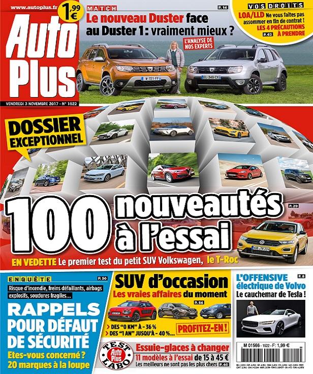 télécharger Auto Plus N°1522 Du 3 Novembre 2017