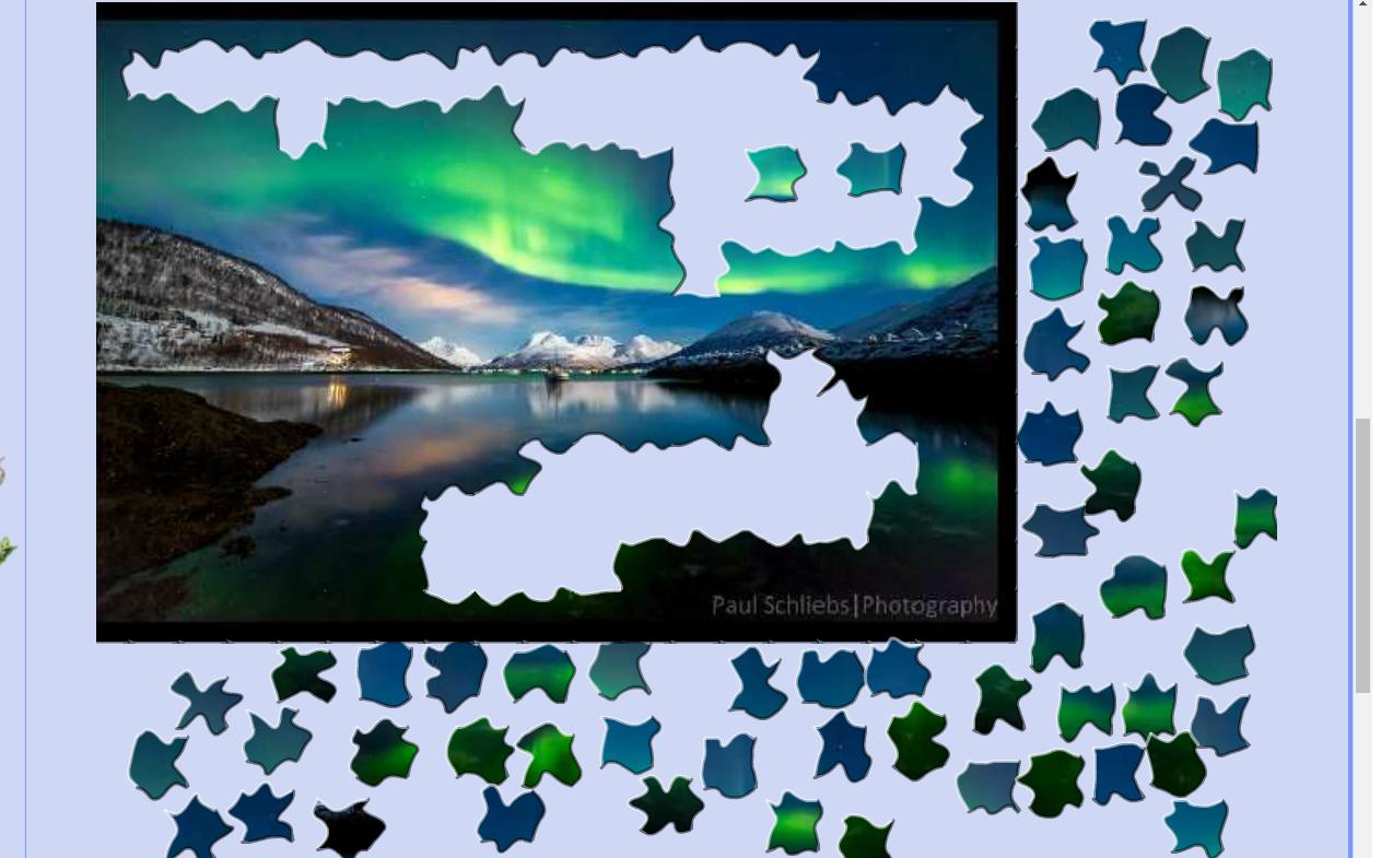 Puzzle #90 / Aurore boréale 171102084507827338