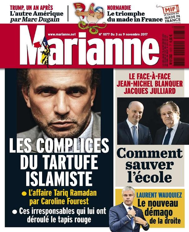 télécharger Marianne N°1077 Du 3 Novembre 2017