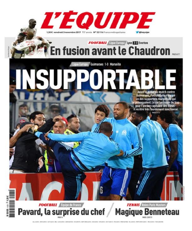 télécharger L'Equipe Du Vendredi 3 Novembre 2017