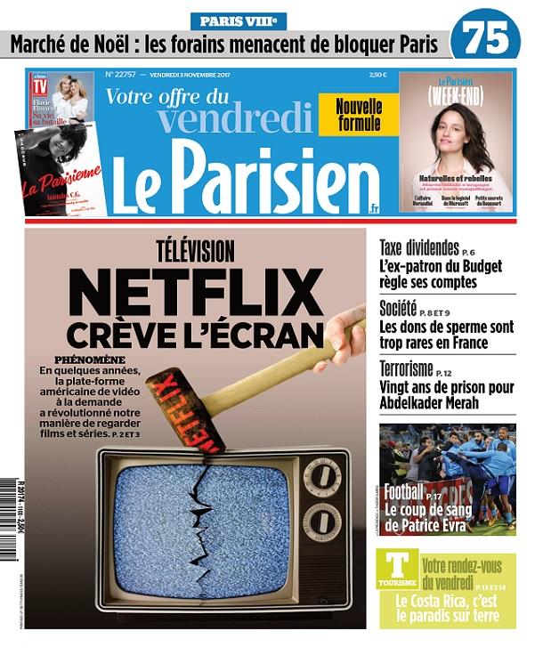 télécharger Le Parisien Du Vendredi 3 Novembre 2017