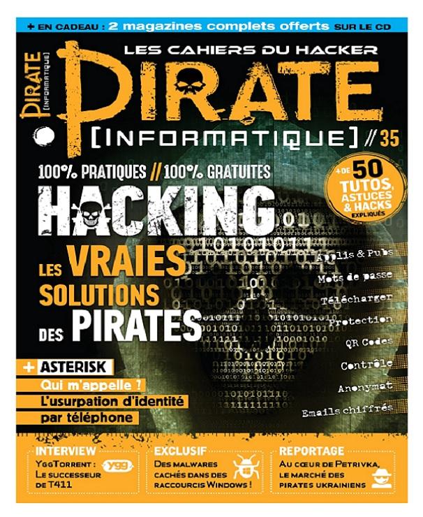 télécharger Pirate Informatique N°35 - Novembre-Décembre 2017