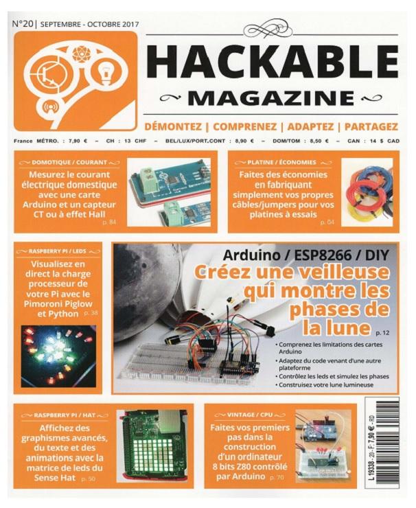 télécharger Hackable Magazine N°20 - Septembre-Octobre 2017