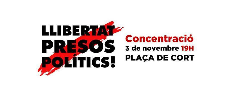 Llibertat presos polítics! (avui!)