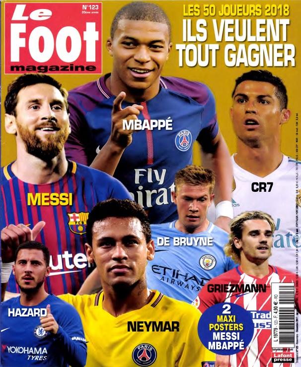télécharger Le Foot Magazine N°123 - Novembre 2017-Janvier 2018