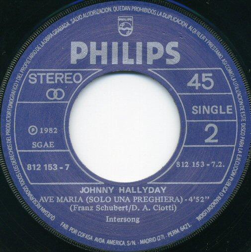 ESPAGNE  1983   Philips 812.153 7  Label 2 - Copie - Copie