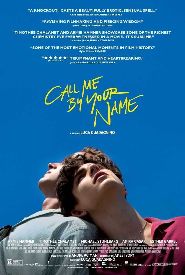 Call Me by Your Name (2017) poster image