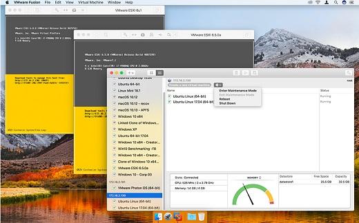 VMware Fusion Pro v10 1 1 Build 7520154-MacOSX – Releaselog | RLSLOG net