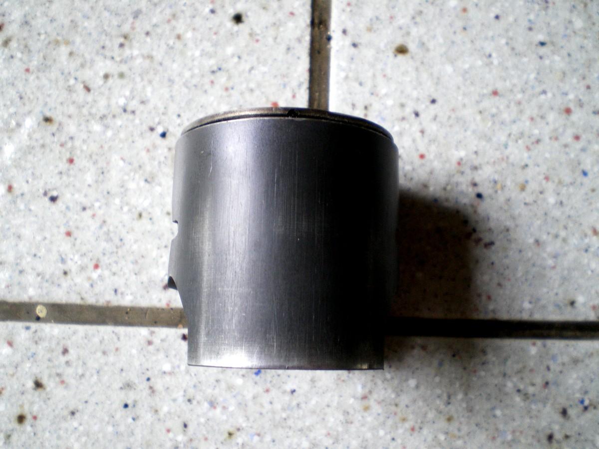 piston graphité