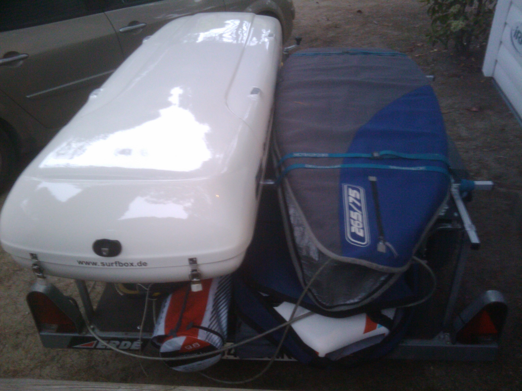 """Vds coffre de toit """"SurfLineBox"""" (windsurf) - [Vendu] 180114071044693663"""