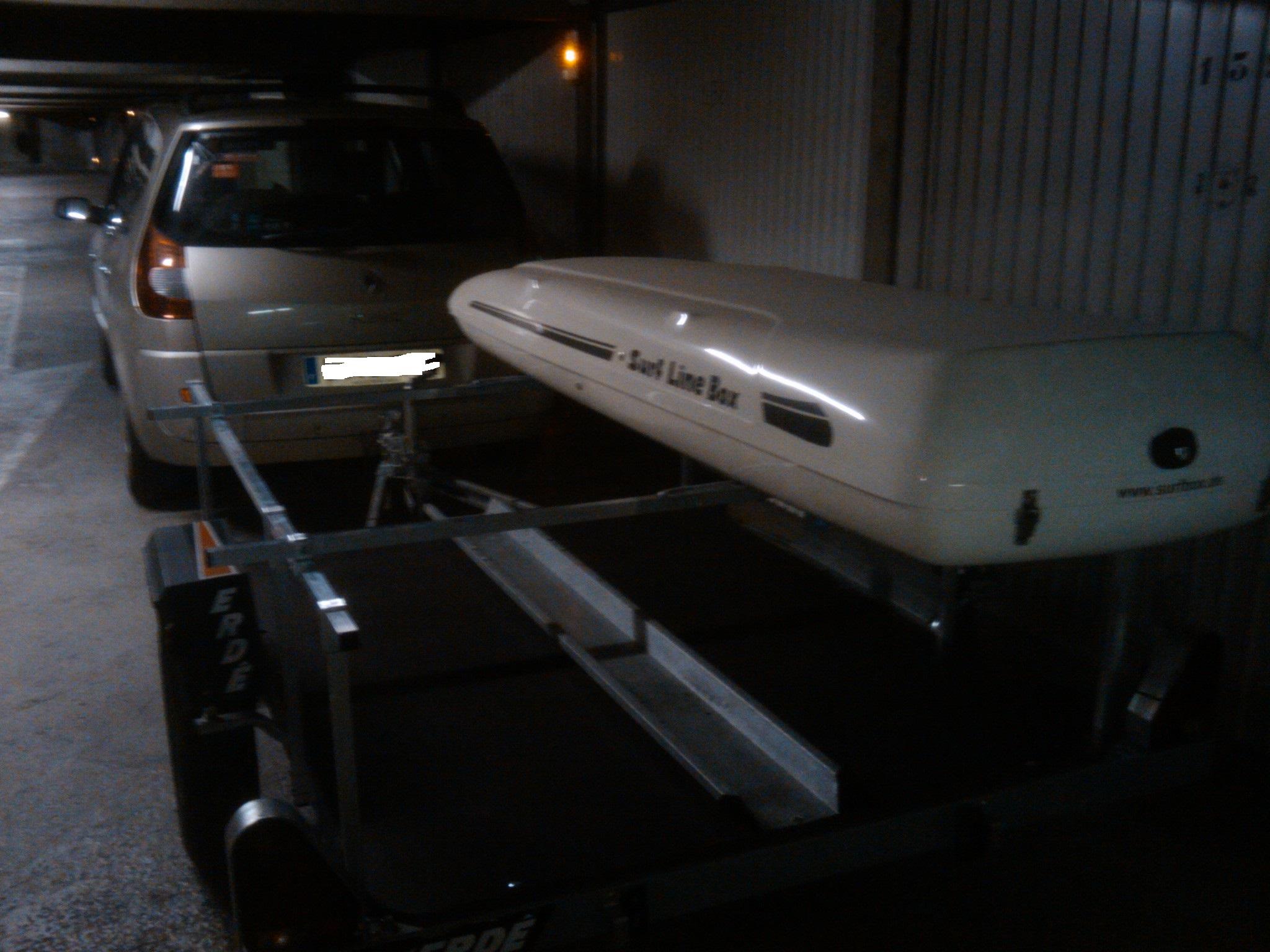 """Vds coffre de toit """"SurfLineBox"""" (windsurf) - [Vendu] 180114072213753364"""