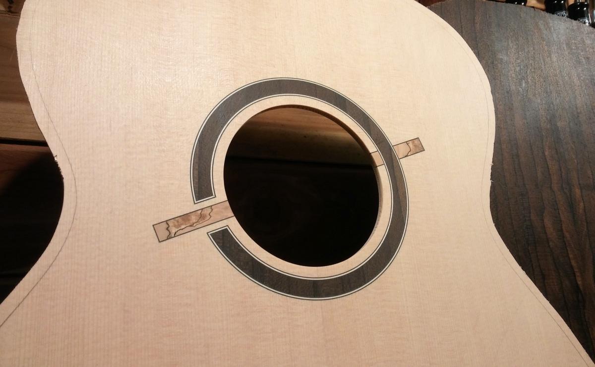 Guitare Baron 12 cordes (fabrication en cours) 180115022722642425