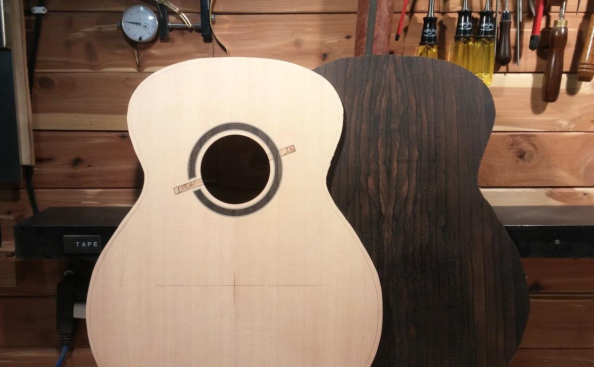 Guitare Baron 12 cordes (fabrication en cours) 180115022723218131