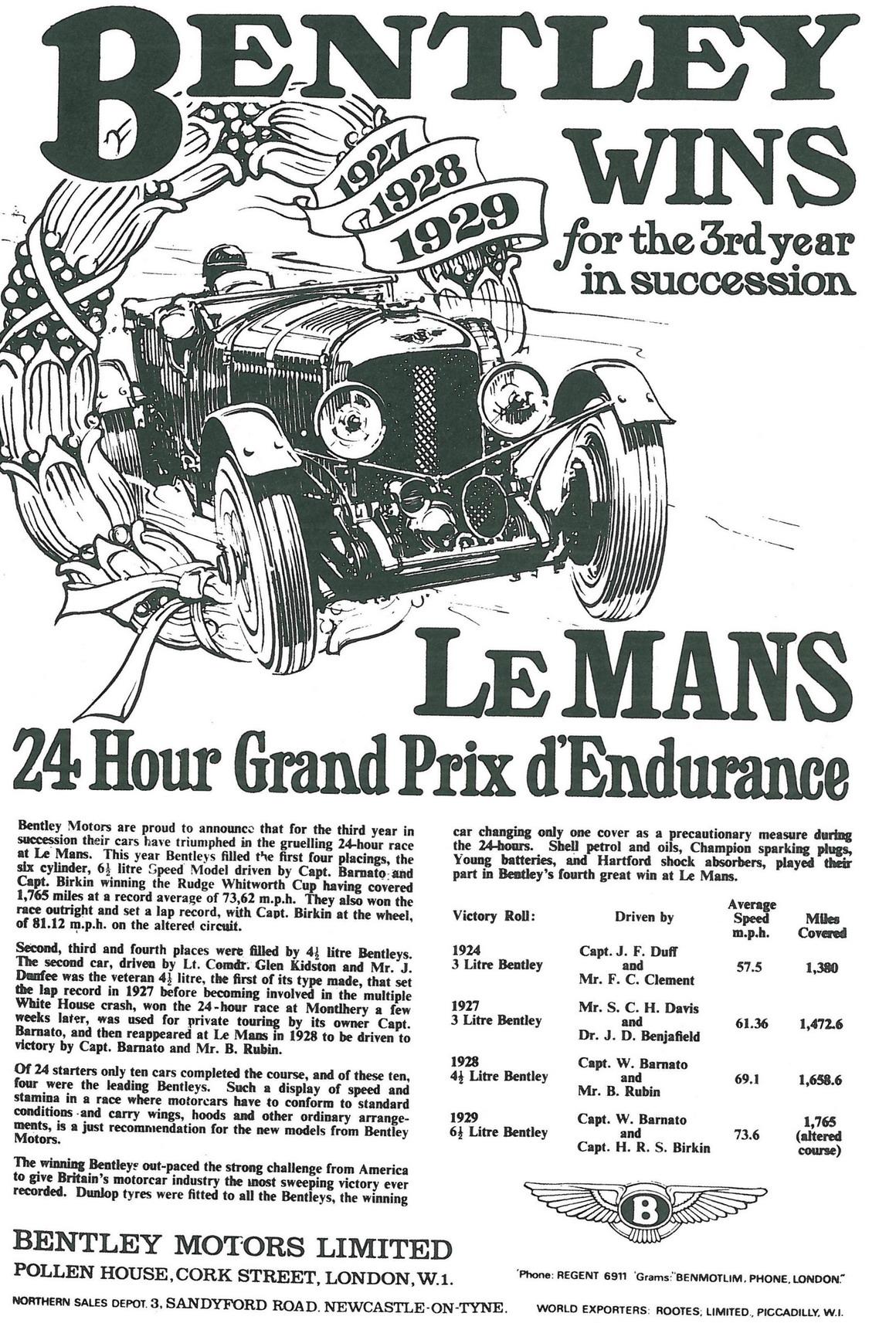 1929-Bentley-Le-Mans-poster
