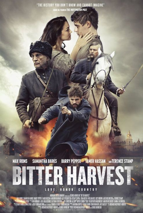 Gorzkie żniwa / Bitter Harvest (2017) PL.720p.BluRay.x264-KiT / Lektor PL