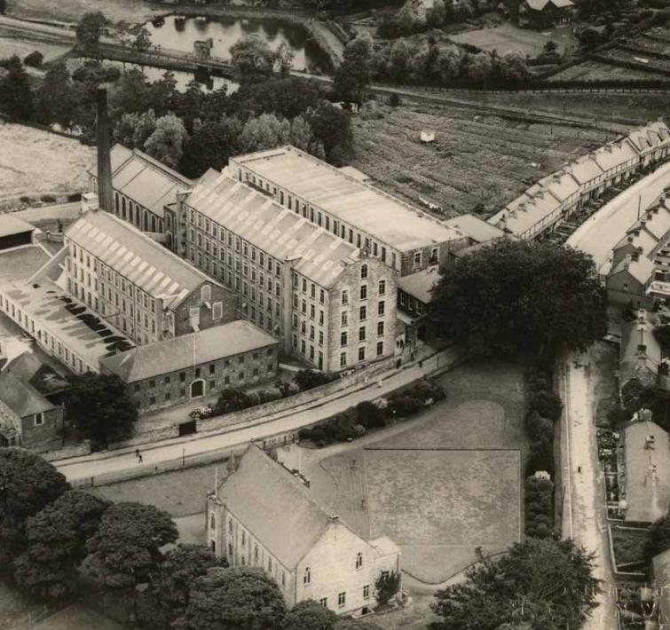 Old Spinning Mill, usine de la famille Andrews 180121053950618430