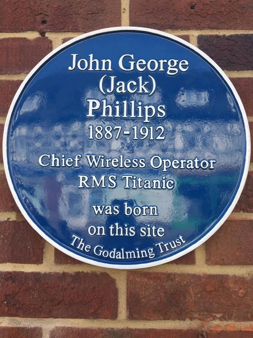 Blue plaque à Farncombe 180127103340201027