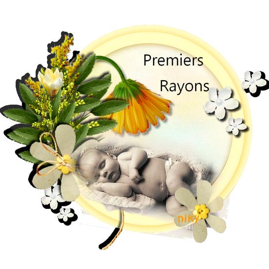 bébé fleurs