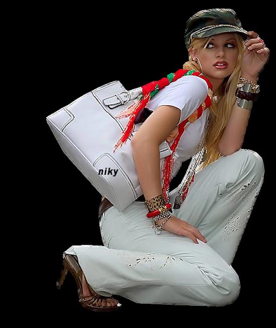 femme sac