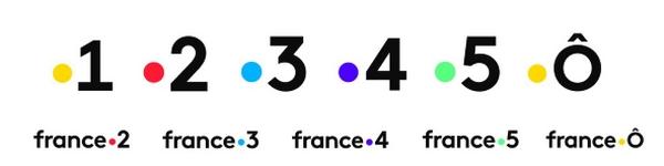 Nouveaux logos pour les chaînes de France Télévisions le 29 Janvier 2018 180129103105918700