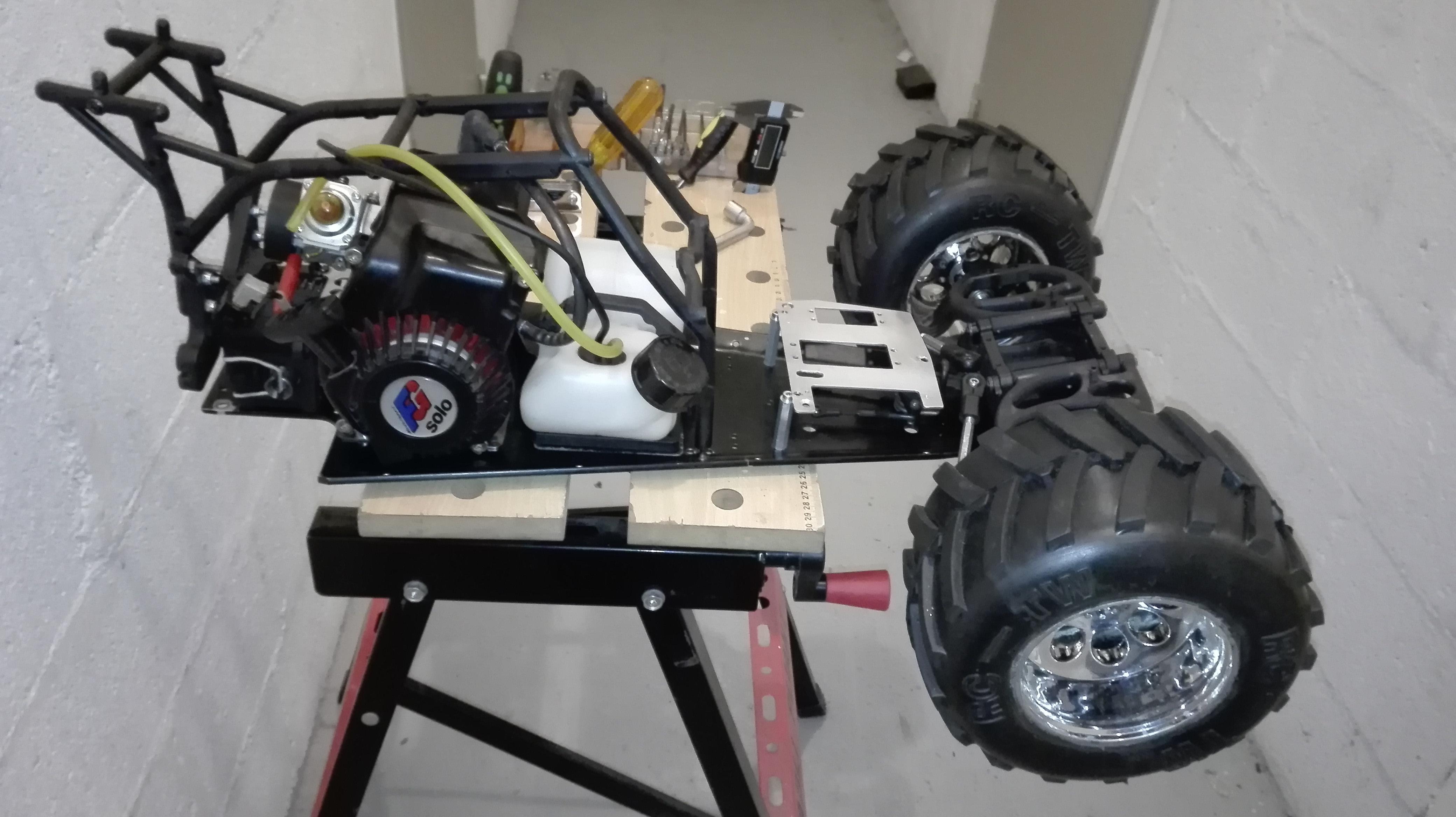 re-montage complet monster truck FG depuis un chassis nu - Page 2 18013010472688655