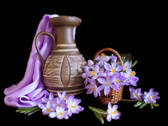 cruche violette