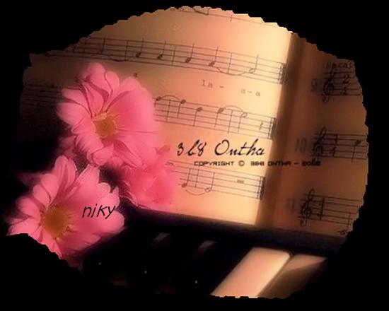 musique fleur