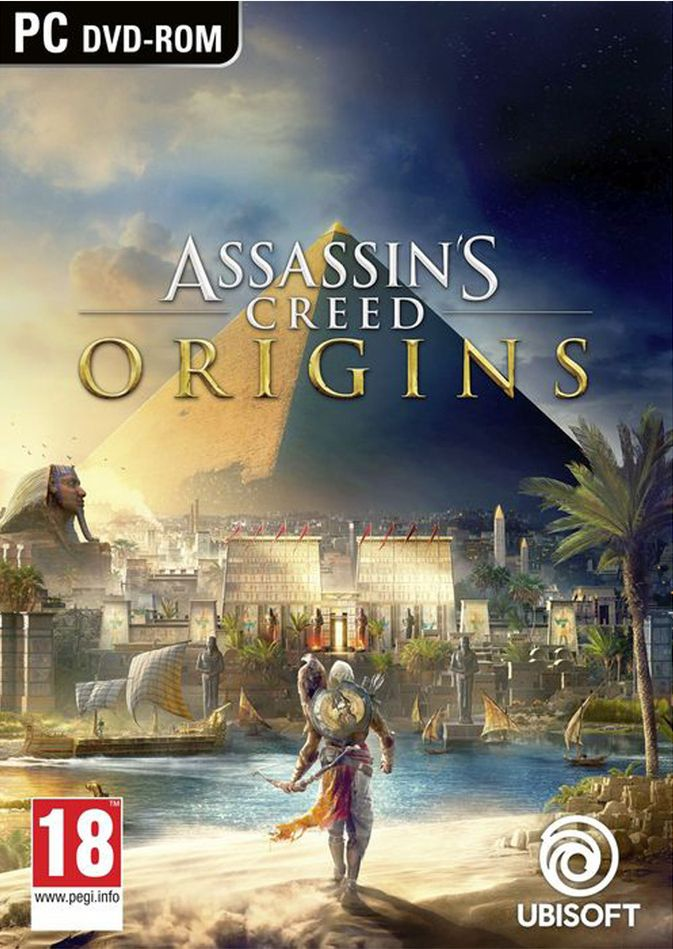 Poster for Assassins Creed Origins
