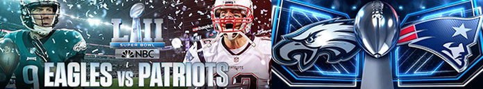 Poster for NFL Super Bowl LII