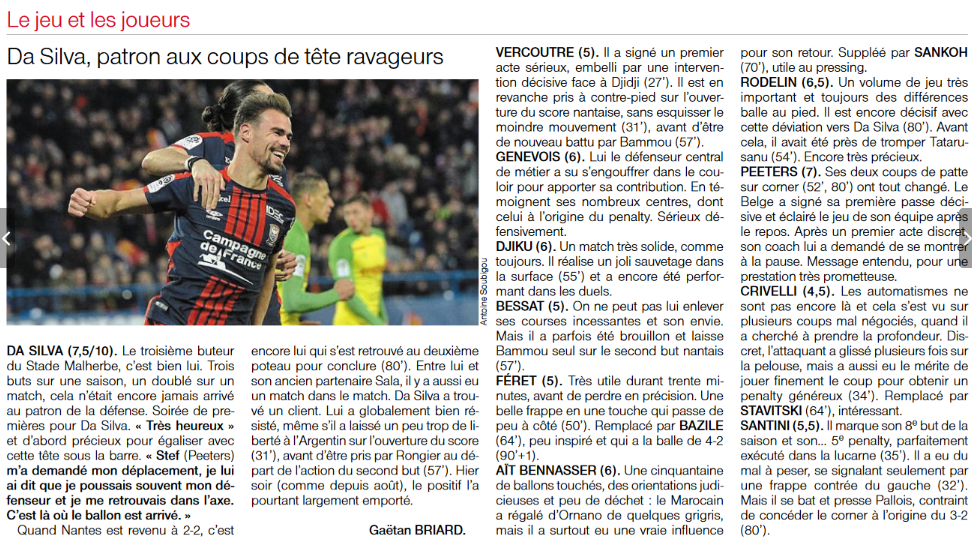 [24e journée de L1] SM Caen 3-2 FC Nantes - Page 2 180205081559718215