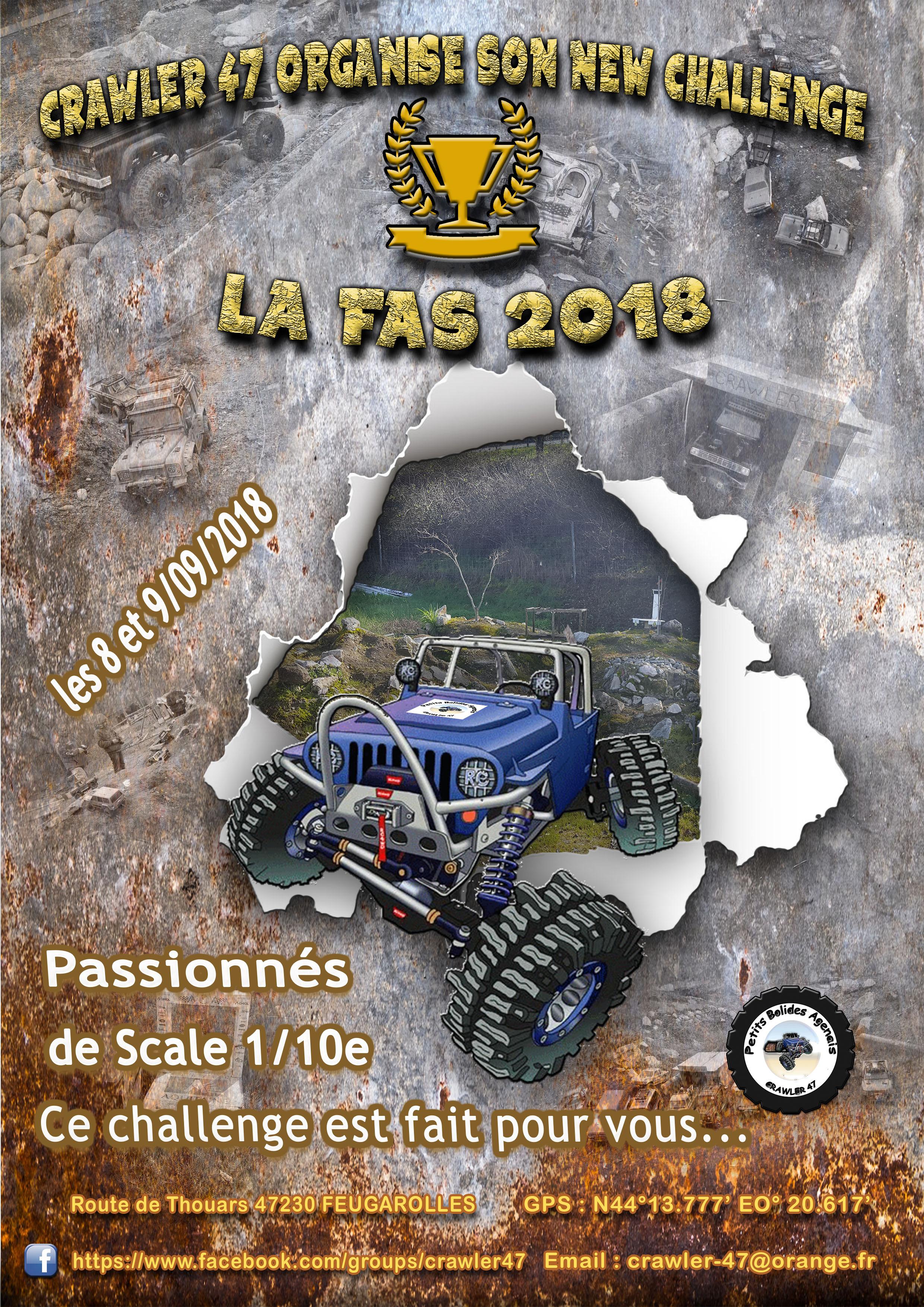 La FAS 2018 - NEW CHALLENGE Crawler 47 180214112534748499