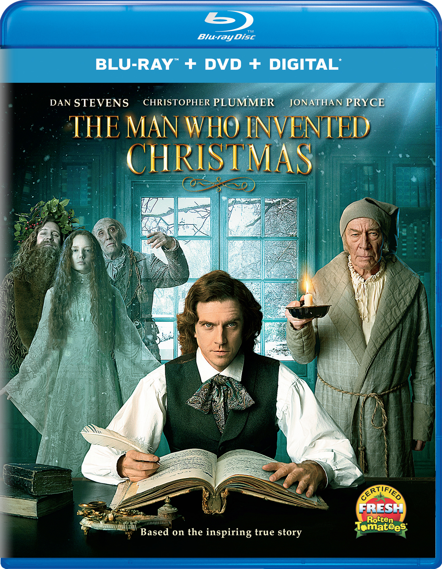The Man Who Invented Christmas (2017) poster image