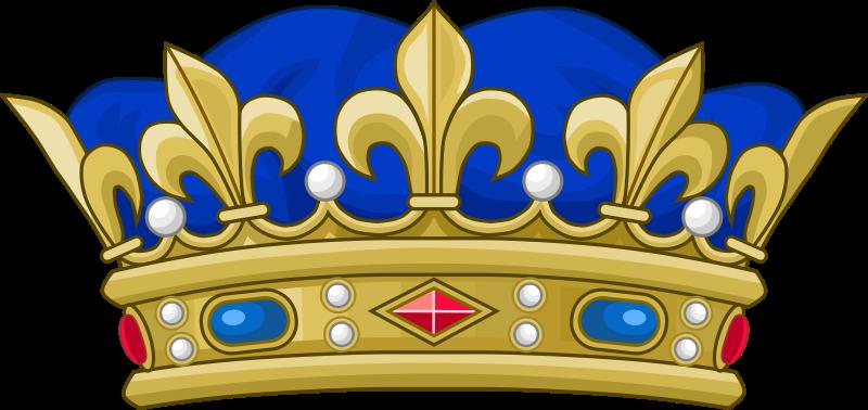 Couronne Prince royal de sang FR