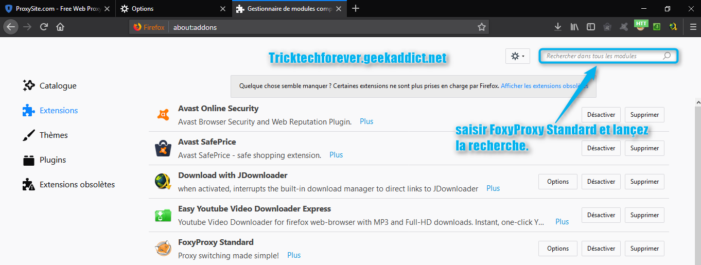 Configurer simultanement plusieur plofils proxy sous Mozilla Firefox et Mozilla Waterfox 180301104031870055
