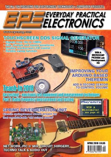 Everyday Practical Electronics – April 2018-P2P – Releaselog