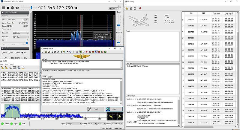 Metar sur Inmarsat 1545 Mhz. 18030405180817211