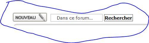 Capture écran forum