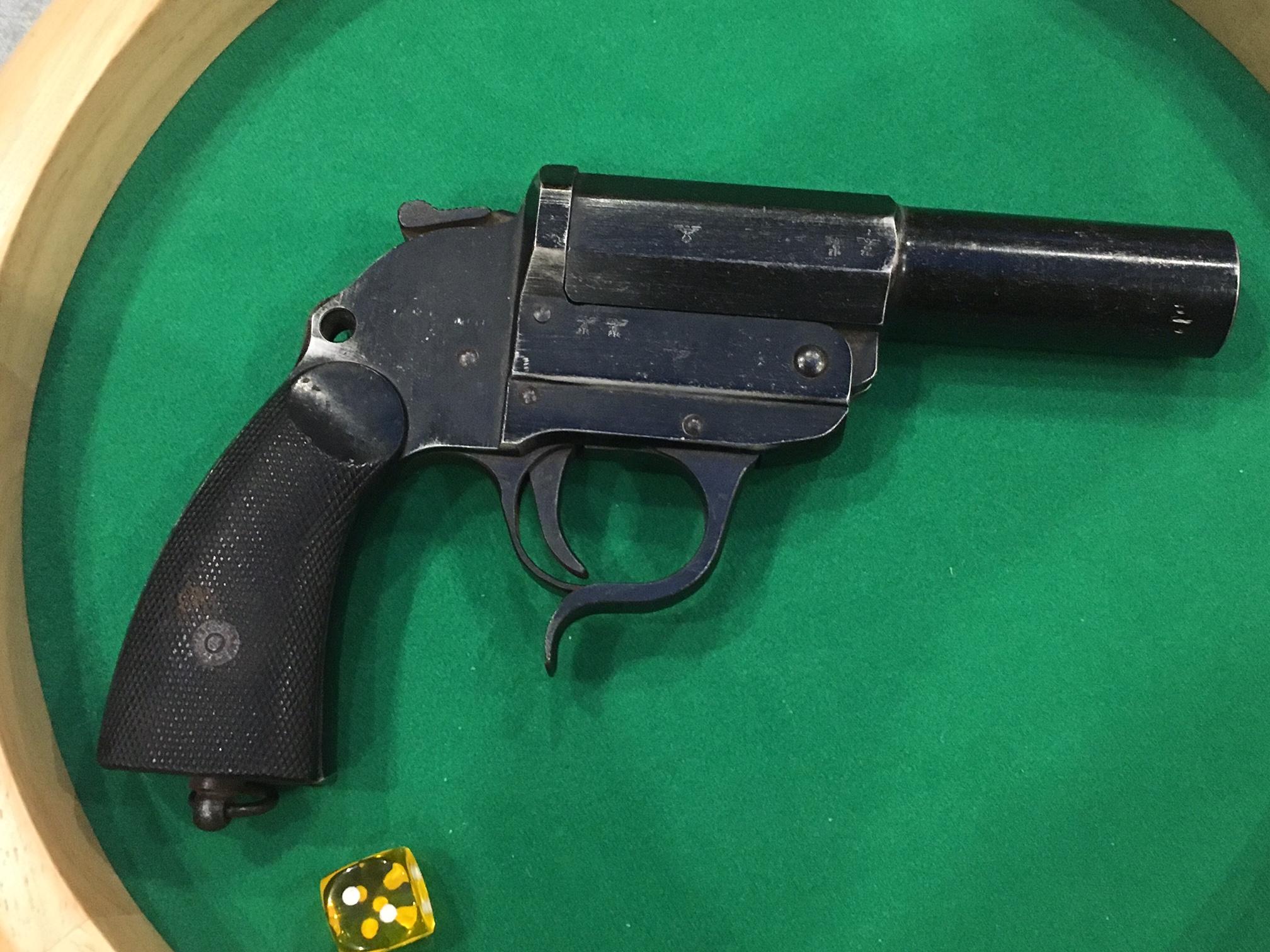 Pistolet Lance fusée 18031307295153673