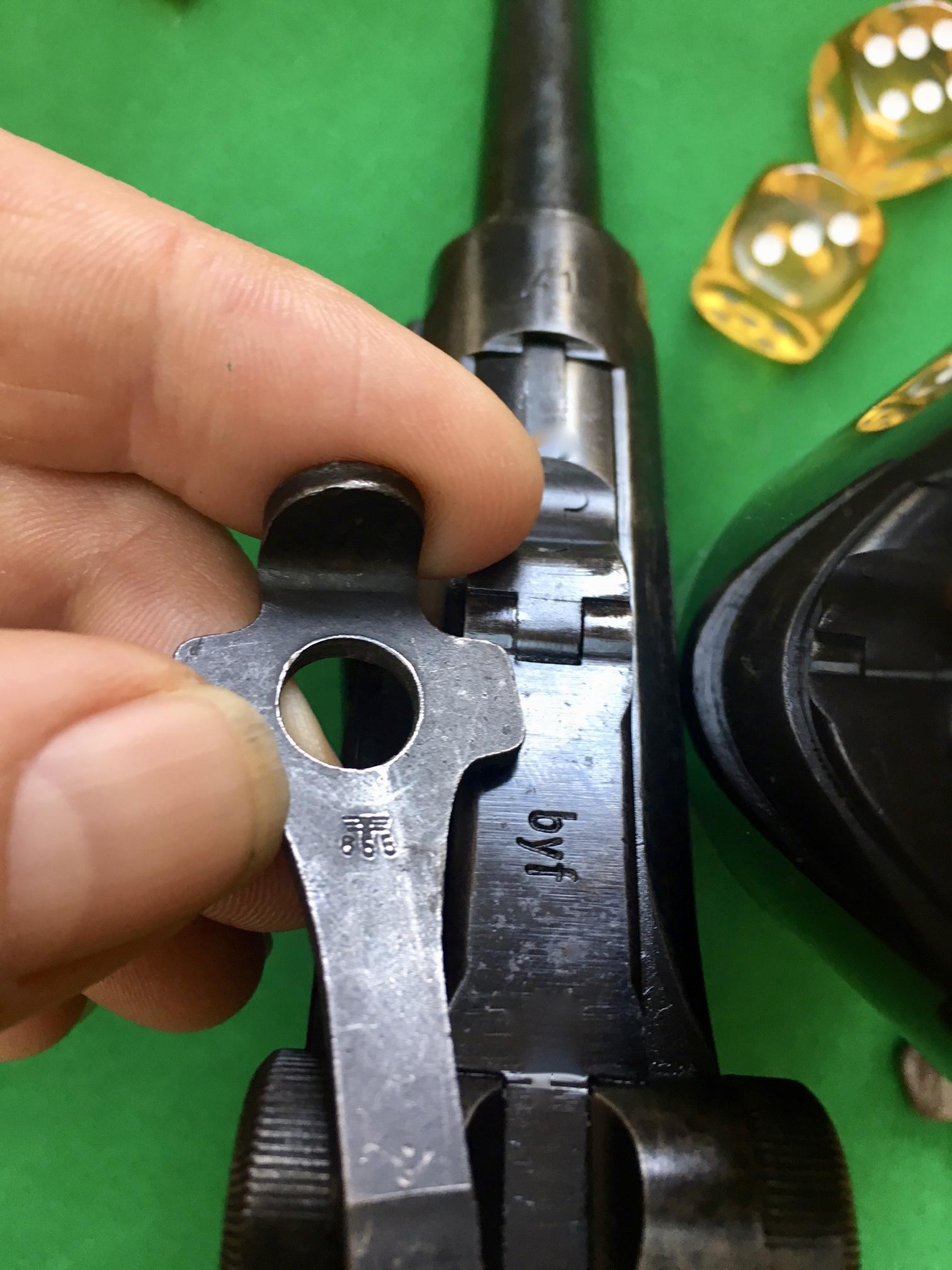 Les petits outils pour les P 08 de l'armée allemande de 1934 à 1942. 180314120235868526
